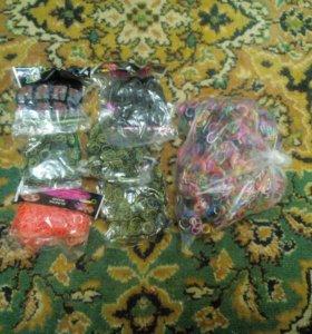 Rainbow loom резинки для плетения