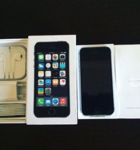 Новый iPhone 5s 16 space grey