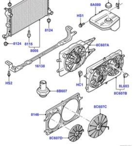 Продам Кронштейн крепления радиатора форд фокус 1