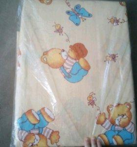Детское постельное белье в детскую кроватку