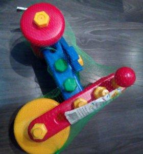Конструктор игрушка велосипед