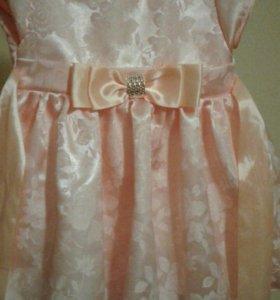 Нарядное платье 86-98