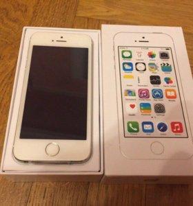 iPhone 5s 32gb Серебристый, Новый, Оригинал