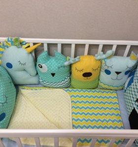 Бортики одеяла