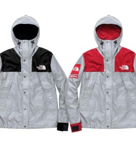 The North Face x Supreme reflective jacket