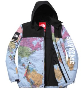 The North Face x Supreme Map jacket
