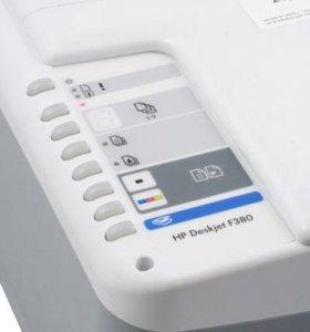 Принтер hp Deskjet F 380