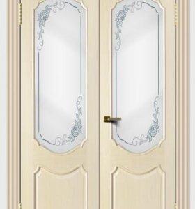 ГСК Дверь межкомнатная Богема дуб беленый тон 16