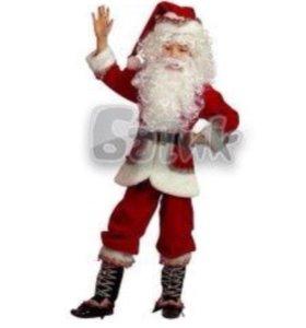 Новогодний костюм Дед Мороза детский