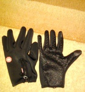 Перчатки теплые