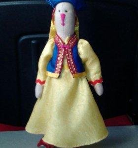 Куклы ручной работы,в национальном стиле.