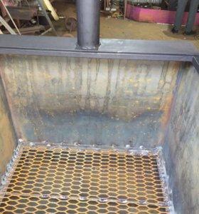 Печь для сжигания мусора на 1 куб