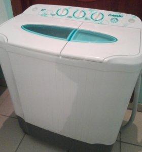 Полуавтоматическая стиральная машина Славда