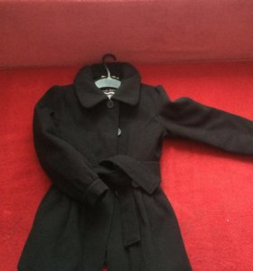 Пальто для девочки 8-12 лет
