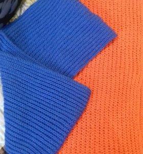 Ручная работа (шарф-хомут)