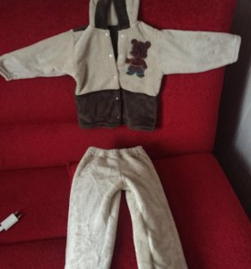 Тёплый детский костюм