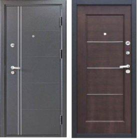 ГСК Дверь металлическая феррум венге