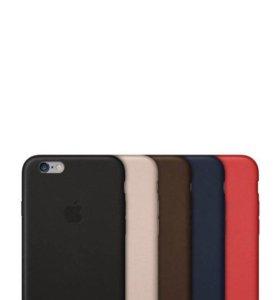 """Чехол """"Apple leather case"""" (копия) iPhone 6+/6s+"""