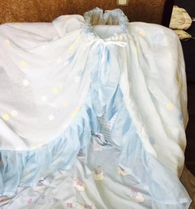 Балдахин на детскую кроватку.