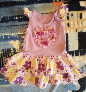 Платье-туника и болеро