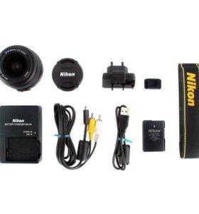 Зеркальный фотоаппарат Nikon D3200 Kit