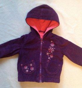 курточка на теплую весну р.86