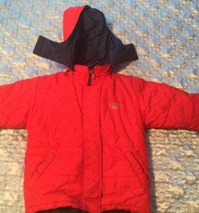 Зимняя Детская куртка на мальчика