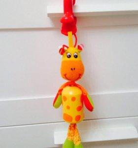 Подвес-колокольчик жираф Tiny love