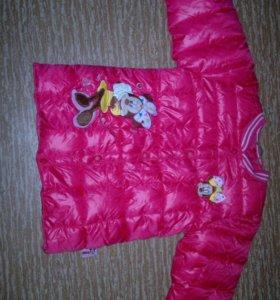 Микки курточка тёплая
