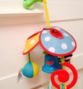 Подвес на коляску весёлая карусель Tiny love