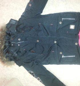 Зимняя куртка на изософте!!