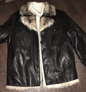 Куртка мужская зимняя(волк)