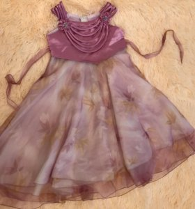 Платье для праздника 7-9 лет