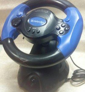 Компьютерный игровой руль и педали