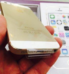 iPhone 5s 16gb Gold, Новый, Оригинал
