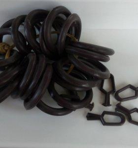 Кольца для деревянных карнизов.