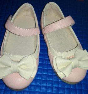 Детские туфли новые р. 21