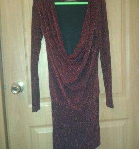 Платье блестящее