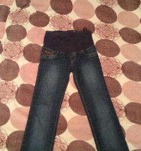 джинсы для беременной и бандаж