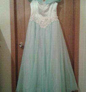 Свадебное платье красивое на шнуровке