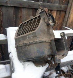 Мотор печки с вентилятором