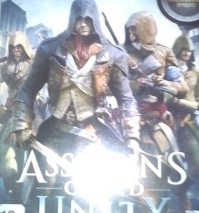 Игровой диск Assassins cred Unity