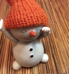 Игрушка для детей, статуэтка, фигурка снеговик