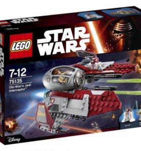 LEGO Star Wars Перехватчик джедаев Оби-Вана Кеноби