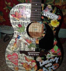 Декорирование гитары