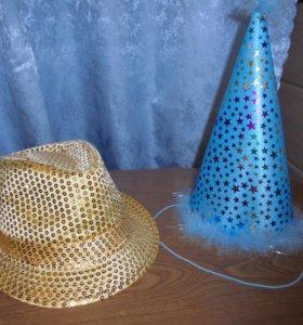 Продаю новогодний колпак и шляпу