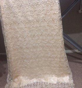 Вечернее новое платье в пол кружево свадебное48-50