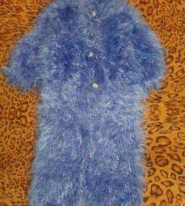 Вязанный костюм.