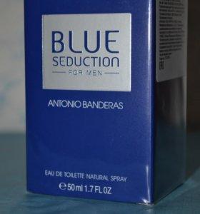 Мужская туалетная вода Antonio Banderas BLUE Seduc