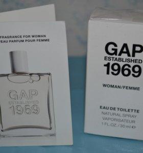 Туалетная вода GAP Established 1969